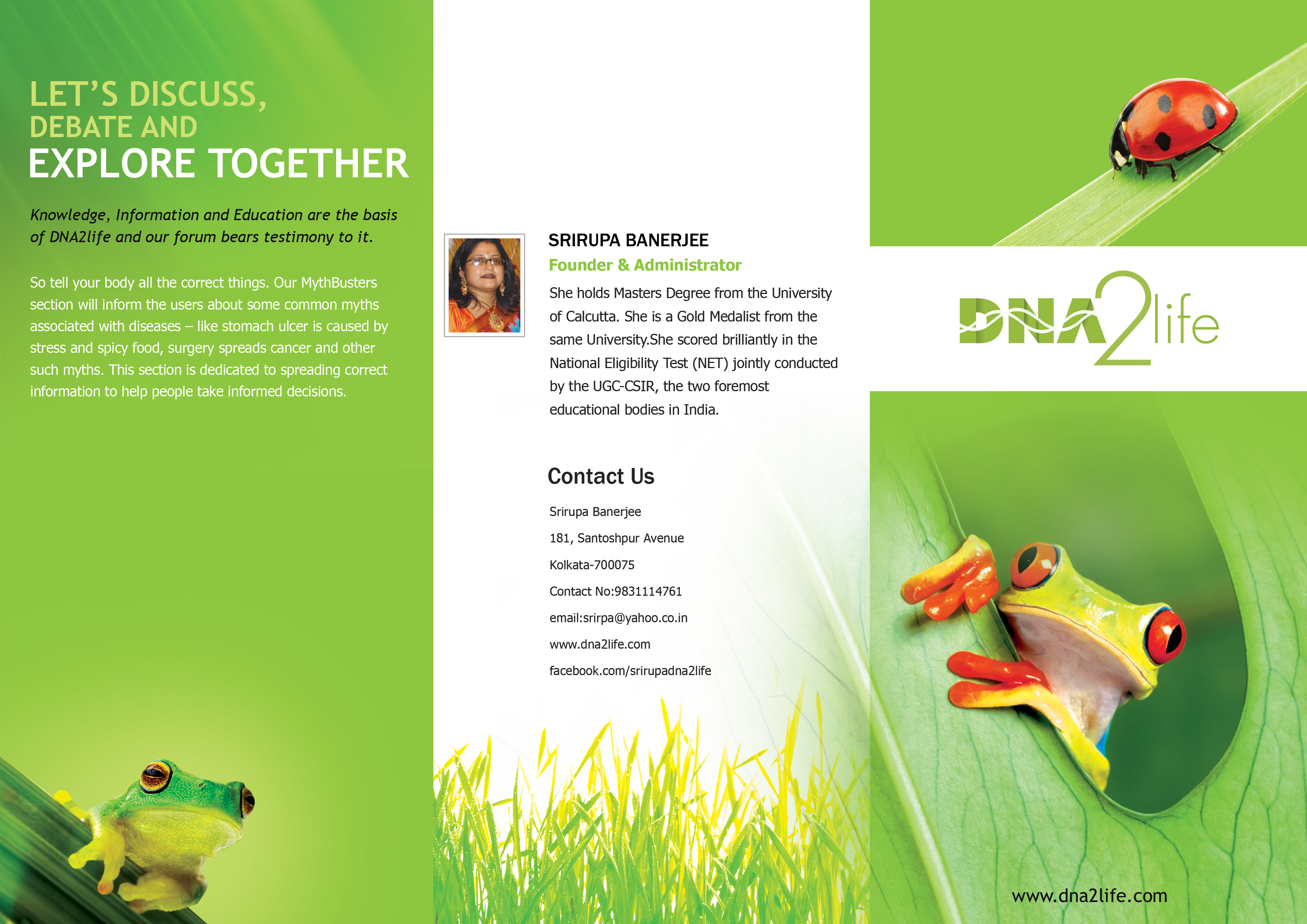 Dna2life-brochure-design