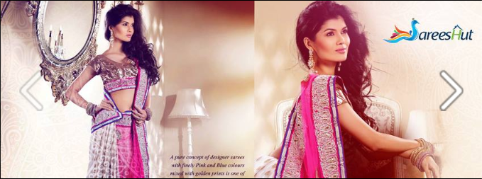 Facebook Cover Image For A Ethnic Online Saree Boutique